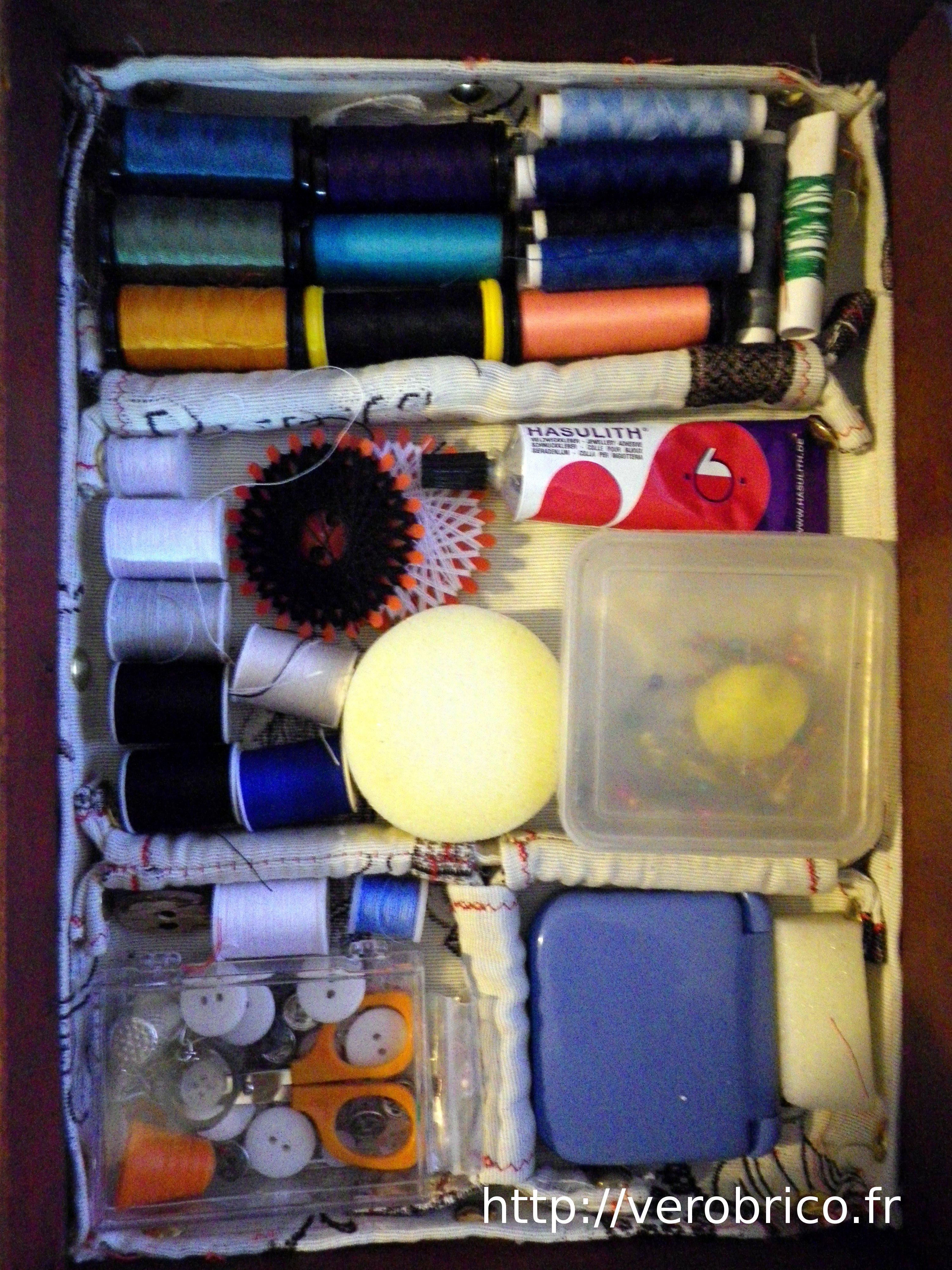 Boite couture le coin bricolage de v robrico for Le bon coin boite a couture