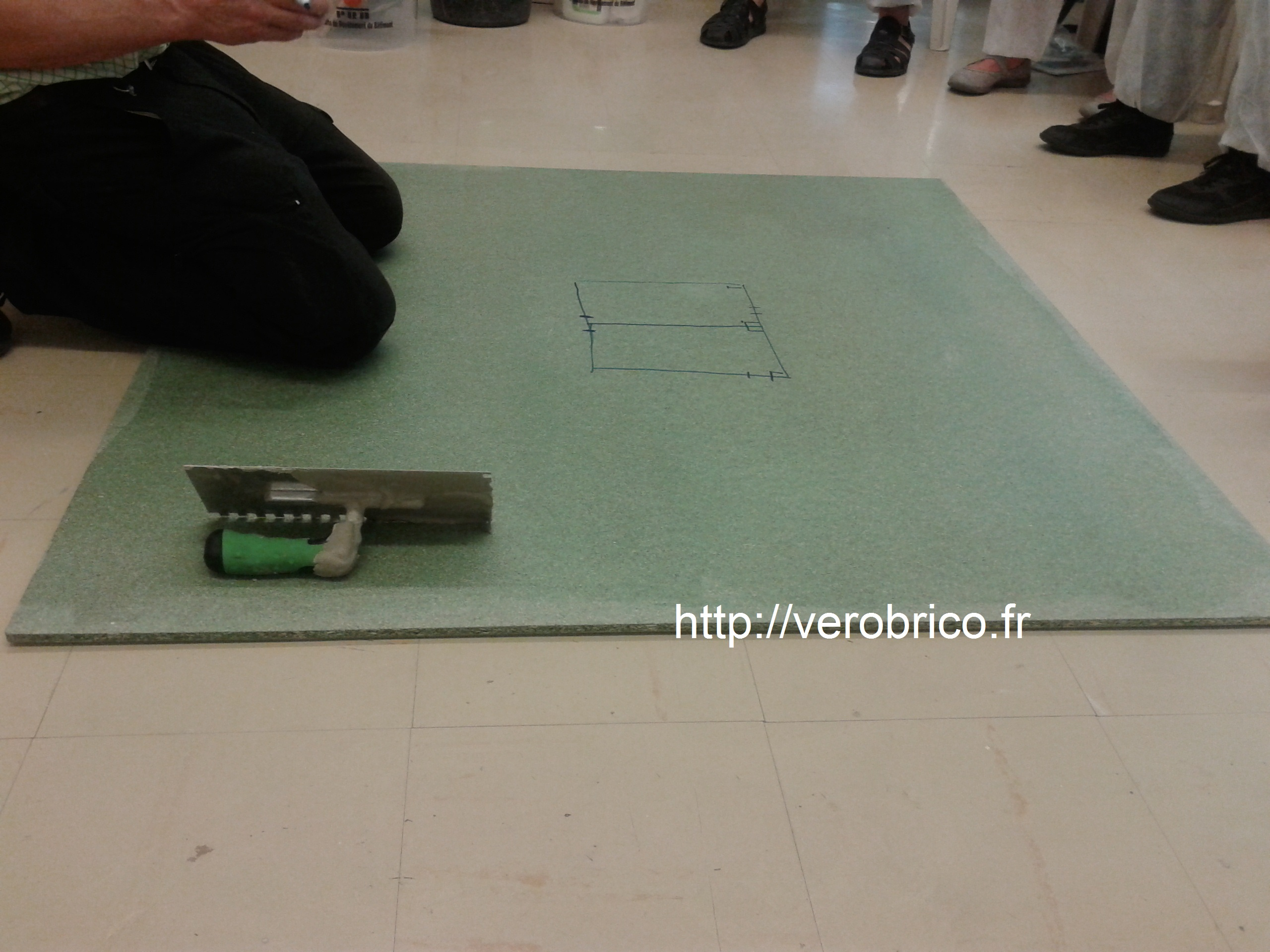 Formation pose de carrelage le coin bricolage de v robrico for Carrelage formation
